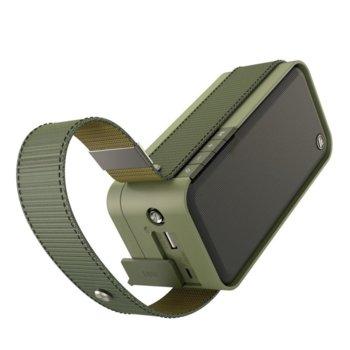 Тонколона HAMA Soldier-L, 2.0, преносима, 20W RMS, Bluetooth, водоустойчива, зелена image
