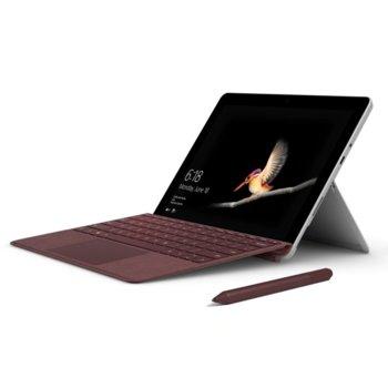 Клавиатура за таблет Microsoft Surface GO Type Cover, съвместима с Microsoft Surface Go, червена image