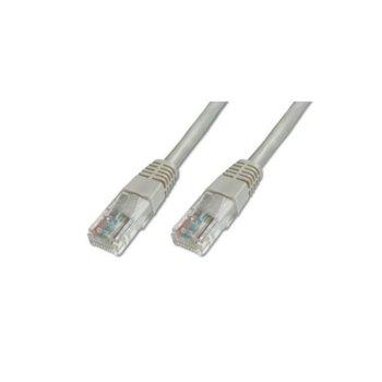 Пач кабел Assmann, F/UTP, Cat.5e, 1m, сив image