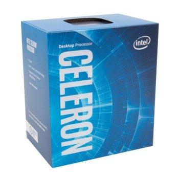 Процесор Intel Celeron G3930 двуядрен (2.9GHz, 2MB Cache, 350MHz-1.05GHz GPU, LGA1151) BOX, с охлаждане image