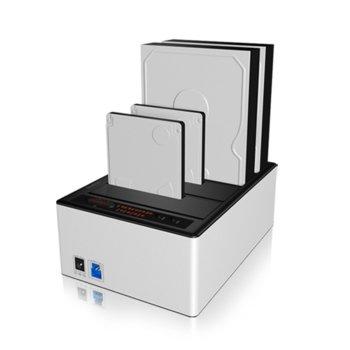 """Докинг станция Raidsonic IB-141CL-U3, 4x 2.5""""/3.5"""" SATA I/II/III SATA HDD/SSD, USB 3.0 image"""