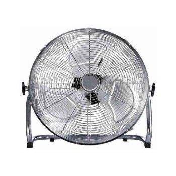 Настолен вентилатор Finlux FSF-1890, 3 скорости 45см. диаметър, 90W, сив image