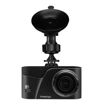 "Видеорегистратор Prestigio RoadRunner 350 за автомобил, Full HD, 3"" (7.62 cm) IPS дисплей, 120° зрителен ъгъл, Micro SD/SDXC слот, miniUSB, микрофон image"