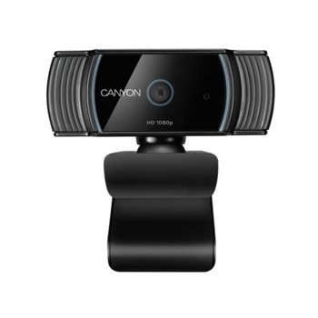 Уеб камера Canyon CNS-CWC5, микрофон, 2 MP (1920x1080), Auto Focus, USB image