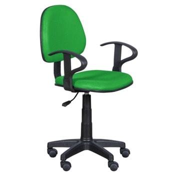 Детски стол Carmen 6012 MR, до 70кг, мрежа, полипропиленова база, газов механизъм за регулиране на височината, газов амортисьор, зелен image