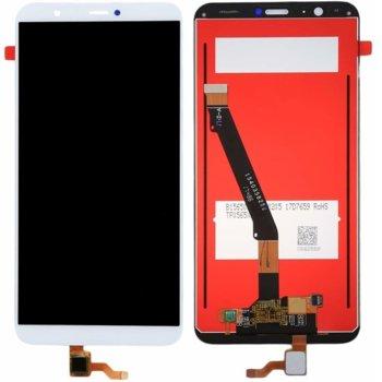 Дисплей за Huawei P Smart / Enjoy 7S с тъч, оригинален, бял image