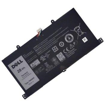 Батерия (оригинална) за лаптоп Dell Venue, съвместима с 11 Pro Keyboard, 7.4V, 28Wh image