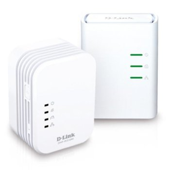 Powerline адаптер D-Link DHP-W311AV, AV 500 Wireless N Mini Extender, QoS, Common Connect Button, WPS image