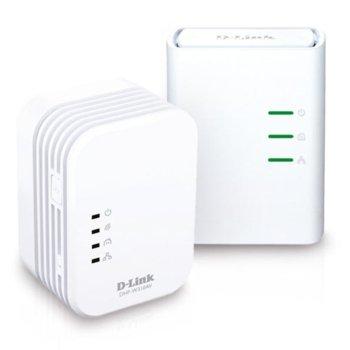 Powerline адаптер D-Link DHP-W311AV, AV 500 Wireless N Mini Extender, QoS, Common Connect Button, WPS image