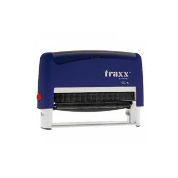 Автоматичен печат Traxx 9016 син, 70/10 mm, правоъгълен image