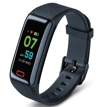 Фитнес гривна Beurer AS 98, Bluetooth, цветен сензорен екран, показания за измерване на пулс, входящи повиквания, индикатор за дата, време, iOS, Android, черна image