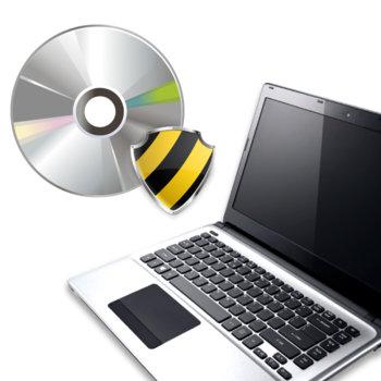 Инсталиране на лицензирана антивирусна програма /предоставена от клиента/ image