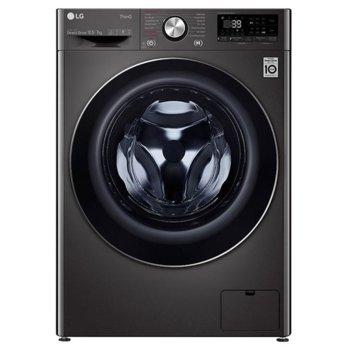 Пералня със сушилня LG F4DV710S2SE, A, 10.5 кг. капацитет пералня/7 кг. капацитет сушилня, 1400 оборота в мин, 14 програми на пране, свободностояща, 60cm ширина, TurboWash 360, AI DD, LG ThinQ, черна image