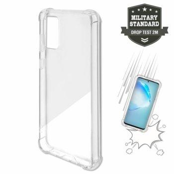 Калъф за Samsung Galaxy S20, хибриден, 4Smarts Hard Cover Ibiza 4S467450, удароустойчив, прозрачен image