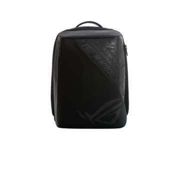 "Раница за лаптоп Asus ROG BP2500G, до 15.6"" (39.62 cm), полиестер, водоустойчива, материал устойчив на надраскване, черна image"
