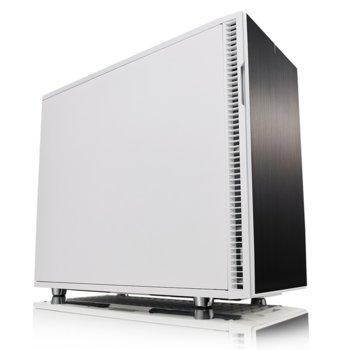 Кутия Fractal Design Define R6 USB-C White, mATX, ATX, ITX, EATX, USB 3.1 Gen 2 Type-C, бяла, без захранване image