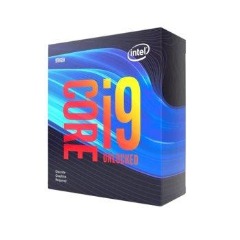 Процесор Intel Core i9-9900KF, осемядрен (3.60/5.00 GHz, 16MB Cache, LGA1151) Box, без охлаждане image