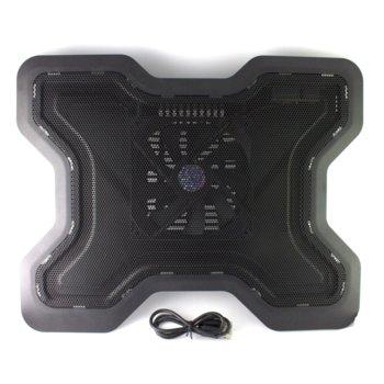 """Охлаждаща поставка за лаптоп, DF 15012, до 17"""" (43.18 cm) image"""
