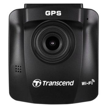 """Видеорегистратор Transcend DrivePro 230 с 32GB карта памет, камера за автомобил, Full HD, 2.4""""(6.1 cm) LCD Full HD дисплей, Wi-Fi, черен image"""