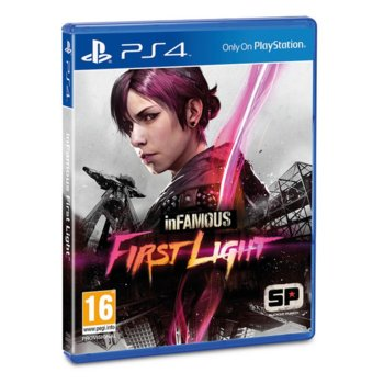 inFAMOUS: First Light product