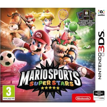 Mario Sports Superstars + amiibo Card product