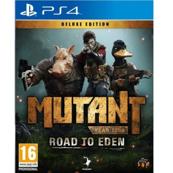 Mutant Year Zero: Road to Eden Deluxe Edition PS4 product