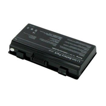 Батерия (заместител) за Asus T12/T12C/T12Er/T12Fg/T12Jg/T12Mg/T12Ug/X51H/X51L/X51R/X51RL, EasyNote MX52/MX65/MX35/MX36/MX45/MX51, 11.1V, 4400 mAh image
