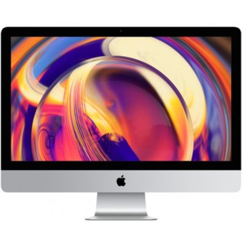 "All in One компютър Apple iMac (MRT32ZE/A_Z0VX0003Y/BG), 21.5"" (54.61 cm) 4K Retina дисплей, четириядрен Coffee Lake Intel Core i3-8100 3.6 GHz, AMD Radeon Pro 555X 2GB, 8GB DDR4, 1TB SSHD, 2x Thunderbolt 3, клавиатура и мишка, macOS Mojave image"