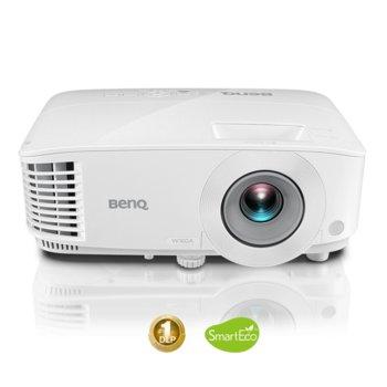 Проектор BenQ MW550, 3D Ready, DLP, WXGA (1280x800), 20 000:1, 3600 lm, HDMI, VGA image