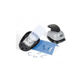 Перфоратор Wedo Pop-up, декоративен, с фигура на звънче, сив image