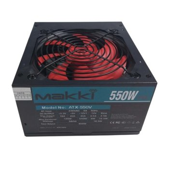 Захранване Makki, 550W, Passive PFC, 120mm вентилатор image