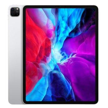"""Таблет Apple iPad Pro (4th Generation)(MXAW2HC/A)(сребрист), 12.9"""" (32.76 cm) Liquid Retina дисплей, осемядрен Apple A12Z Bionic, 6GB RAM, 512GB Flash памет, 12.0 + 10.0 MPix & 7.0 MPix камера, iPad OS, 643g image"""