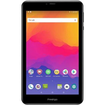 "Таблет Prestigio Grace 5778 4G (PMT5778_4G_D)(черен), 8"" (20.32 cm) HD IPS дисплей, четириядрен ARM Cortex-A53 1GHz, 2GB RAM, 16GB Flash памет, 5+2 Mpix камера, Android, 360g image"