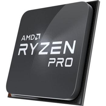 Процесор AMD Ryzen 3 Pro 2100GE, двуядрен (3.20GHz, 2MB Cache, 1000MHz графична честота, AM4) Tray, без охлаждане image
