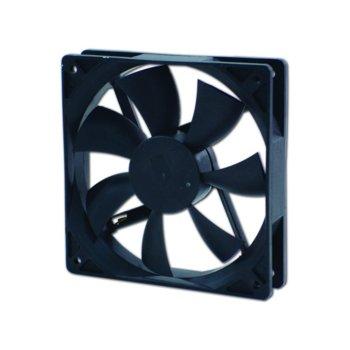 Вентилатор 120мм, EverCool EC12025H12BA, 2Ball 2200 RPM image