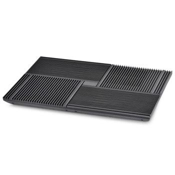 """Охлаждаща поставка за лаптоп DeepCool Multi Core X8, за лаптопи до 17"""" (43.18 cm), 4 режима на работа, черна image"""