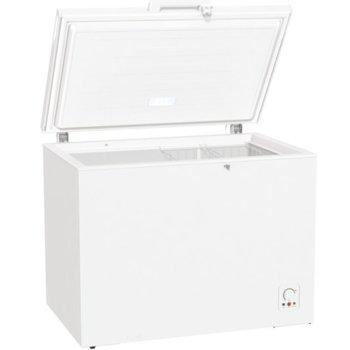 Фризер ракла Gorenje FH302CW, клас E, 303 л. общ обем, свободностояща, 233 kWh/годишно разход на енергия, бяла image