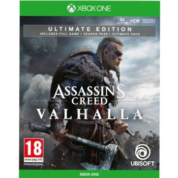 Игра за конзола Assassin's Creed Valhalla – Ultimate Edition, за Xbox One image