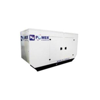 Дизелов генератор KJ POWER KJA 55, двигател ALPHA-R, 55kVA/44kW, 176л резервоар, водно охлаждане, IP23 защита, с кожух image