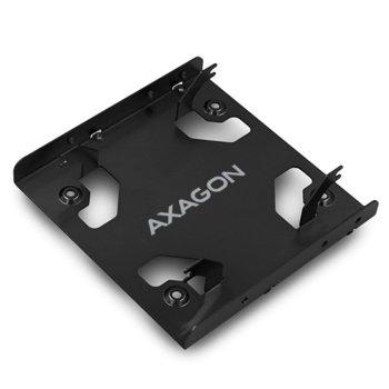 """Преходник (mounting bracket AXAGON RHD-225L, от 2x 2.5"""" HDD/SSD, към 3.5"""" image"""