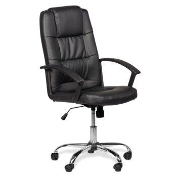 Директорски стол Carmen 6076, черен image