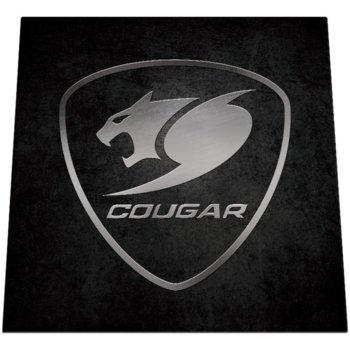 Постелка за под Cougar Command (3MCOMFMB.0001), 110cm x 110cm x 0.4cm, черна image