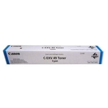 TОНЕР ЗА КОПИРНА МАШИНА CANON C-EXV 49 - C3330i/C3325i/C3320i/C3320 - Cyan - P№ 8525B002AA - заб.: 19 000k image