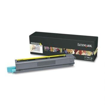 КАСЕТА ЗА LEXMARK X925 - Yellow High Yield Return Programme Print Cartridge -  P№ X925H2YG - заб.:24000k. image