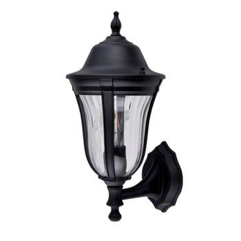LED градинско осветително тяло Elmark EM96201WU/BK, IP44, Стенен монтаж image