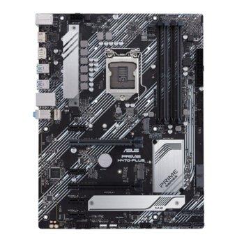Дънна платка Asus PRIME H470-PLUS, H470, LGA1200, PCI-E 3.0 (HDMI&DP), (CFX), 6x SATA3, 2x M.2, 2 x USB 3.2 Gen 2, ATX image