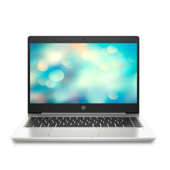 "Лаптоп HP ProBook 440 G7 (8VU02EA)(сребрист), четириядрен Comet Lake Intel Core i5-10210U 1.6/4.2 GHz, 14"" (35.56 cm) Full HD IPS Anti-Glare Display, (HDMI), 8GB DDR4, 256GB SSD, 1x USB 3.1 Type-C, Windows 10 Pro  image"