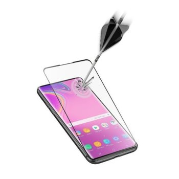 Протектор от закалено стъкло /Tempered Glass/, Cellular Line Second Glass Capsule, за Samsung Galaxy S10e, черен image