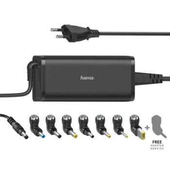 Захранване за лаптопи универсално Hama 200003, 15-19V, 90W, 7 конектора image
