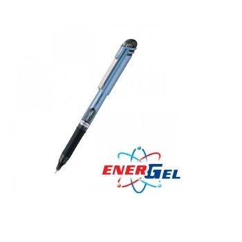 Ролер Pentel Energel BLN15, черен цвят на писане, дебелина на линията 0.7 mm, гел, син, цената е за 1бр. (продава се в опаковка от 12бр.) image